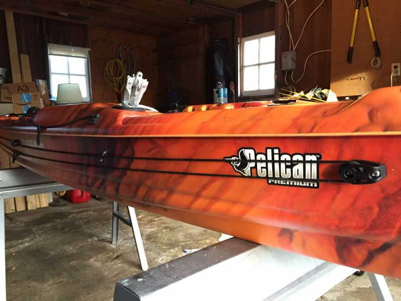 Pelican Catch 120 kayak (1/1) | YakAngler