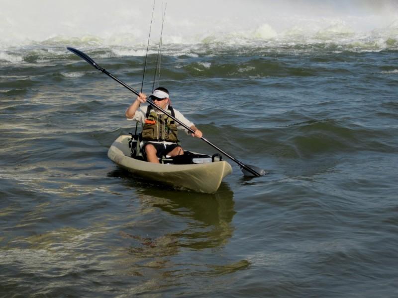 Nucanoe classic 12 fishing kayak review for Fishing kayak review