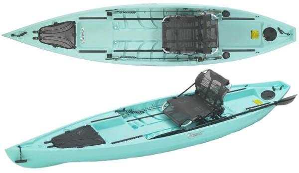 NuCanoe Pursuit 13 5 Fishing Kayak Review