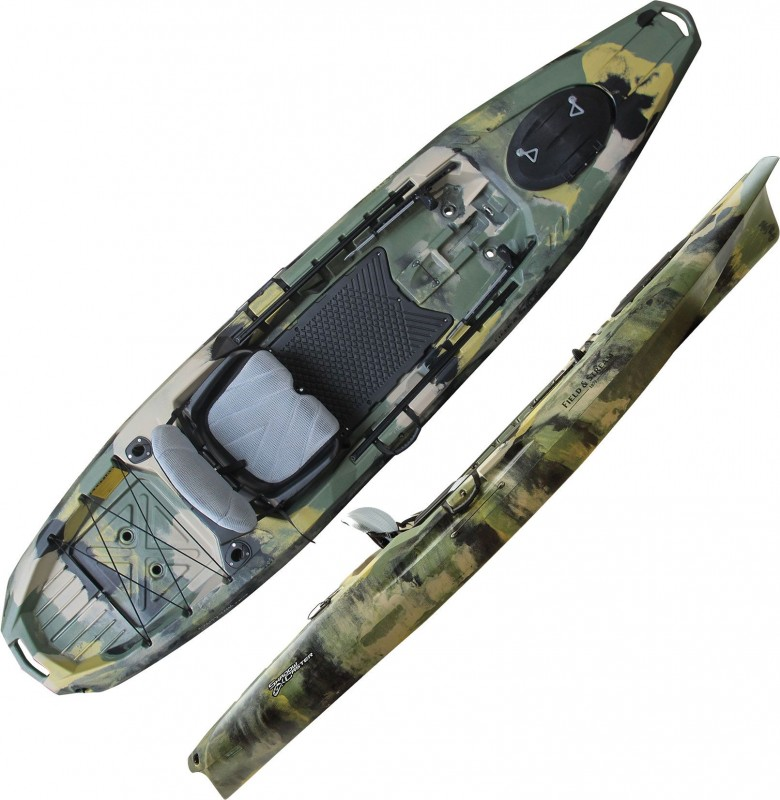 """Field And Stream Shadow Caster 12'3"""" 12.5 Fishing Kayak Review"""