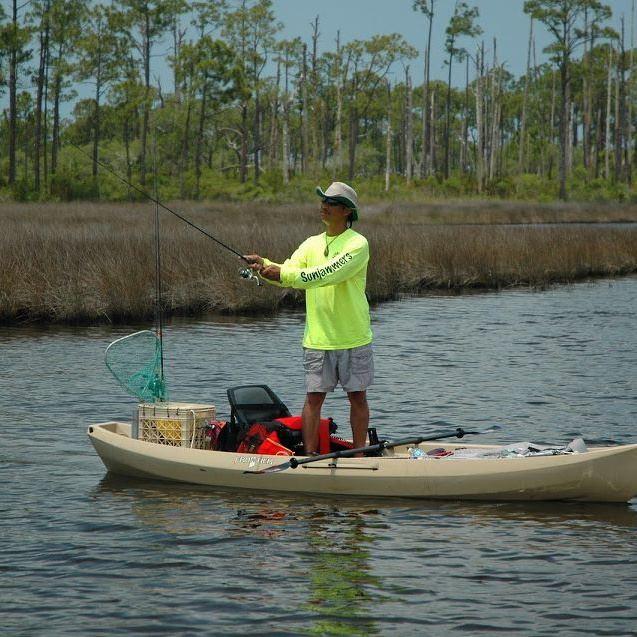 Nucanoe frontier 12 fishing kayak review for Fishing kayak review