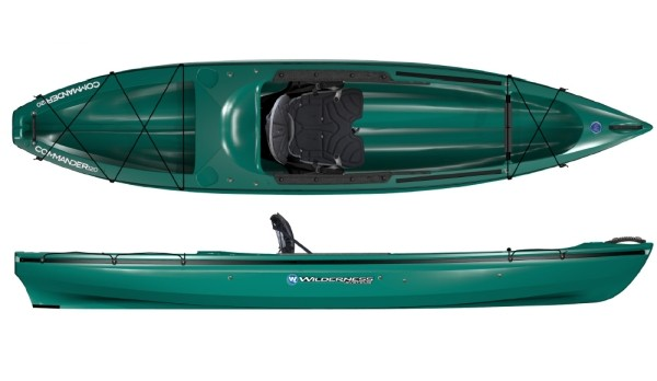 Wilderness systems commander 12 fishing kayak review for Wilderness systems fishing kayaks