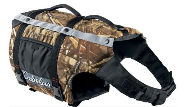 Cabela 39 s advanced dog flotation vest for Cabelas fishing vest