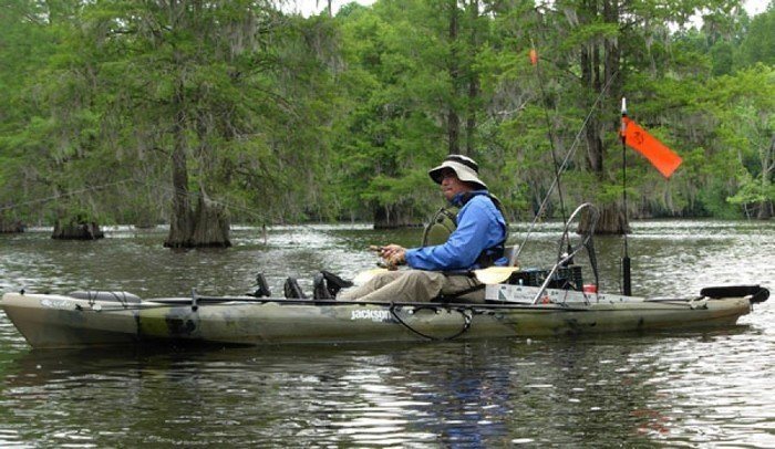 Jackson kayak cuda 14 fishing kayak review for Fishing jackson kayak