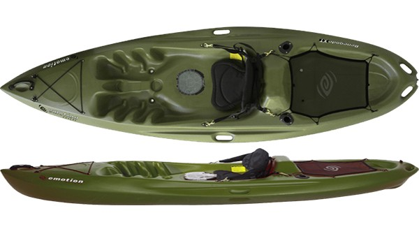Emotion kayaks renegade xt 10 fishing kayak review for Emotion fishing kayak