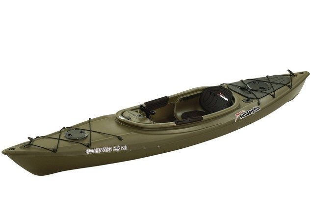 Sun dolphin excursion 12 ss 12 fishing kayak review for Best fishing kayak for the money