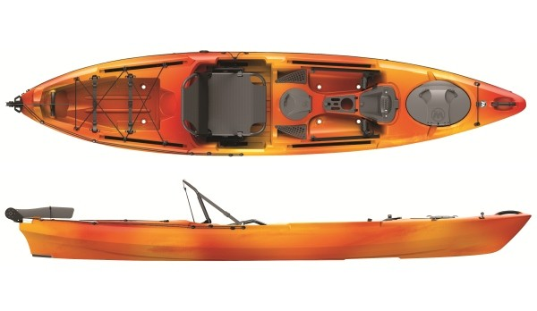 Wilderness systems tarpon 130x 13 fishing kayak review for Wilderness systems fishing kayaks