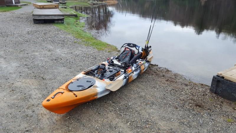 Vibe kayaks sea ghost 13 fishing kayak review for Fishing kayaks reviews