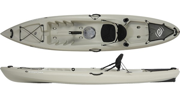 Emotion kayaks stealth 11 angler 11 fishing kayak review for Emotion fishing kayak