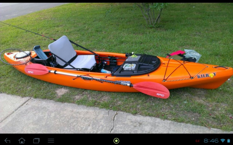 Jackson kayak kilroy 12 fishing kayak review for Fishing jackson kayak