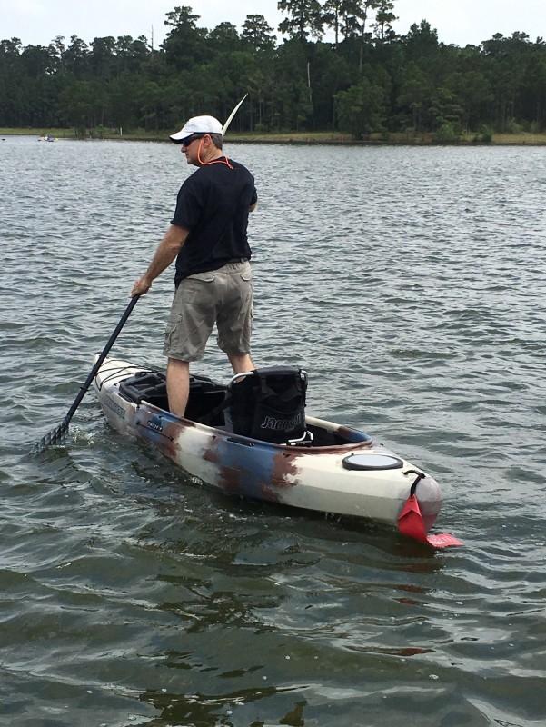 Jackson kayak kilroy 12 fishing kayak review for Fishing kayak review