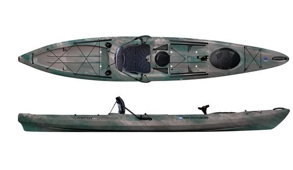 Wilderness systems tarpon 14 fishing kayak review for Wilderness fishing kayak