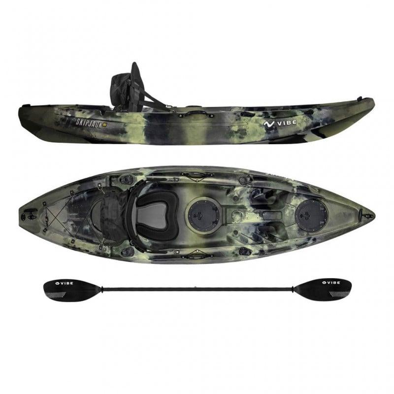 Vibe kayaks skipjack 90 9 fishing kayak review for Vibe fishing kayak