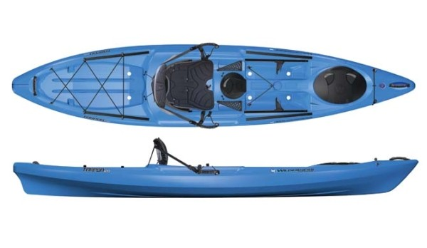 Wilderness systems tarpon 12 fishing kayak review for Wilderness systems fishing kayaks