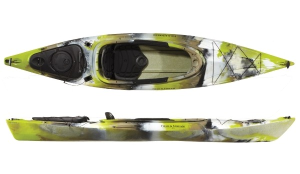 Field And Stream Eagle Run 12 Fishing Kayak Review