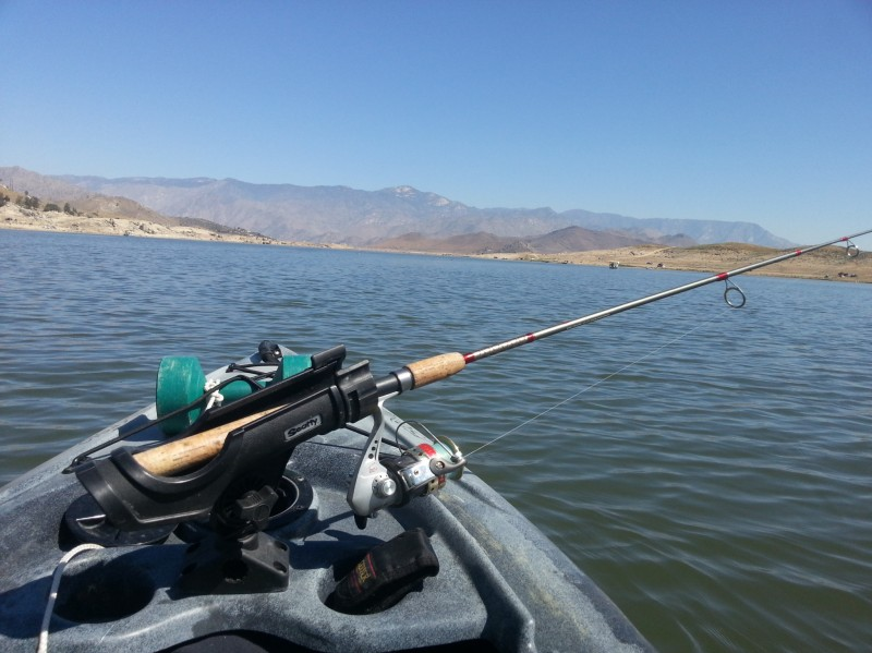 Lake isabella freshwater fishing spot and kayak launch in for Best fishing spots in california
