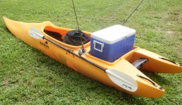 Santa Cruz Raptor Sit Inside 13 Fishing Kayak Review