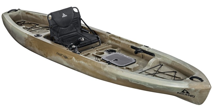Ascend fs12t 12 fishing kayak review for Bass pro fishing kayak