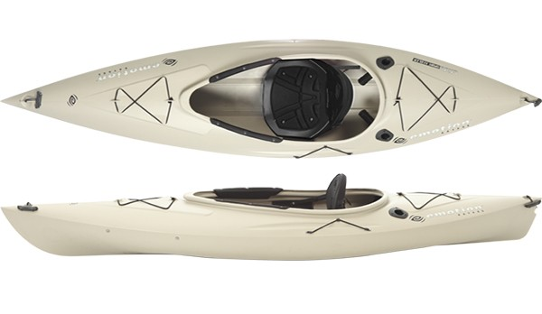 Emotion kayaks glide sport angler 9 5 fishing kayak review for Emotion fishing kayak
