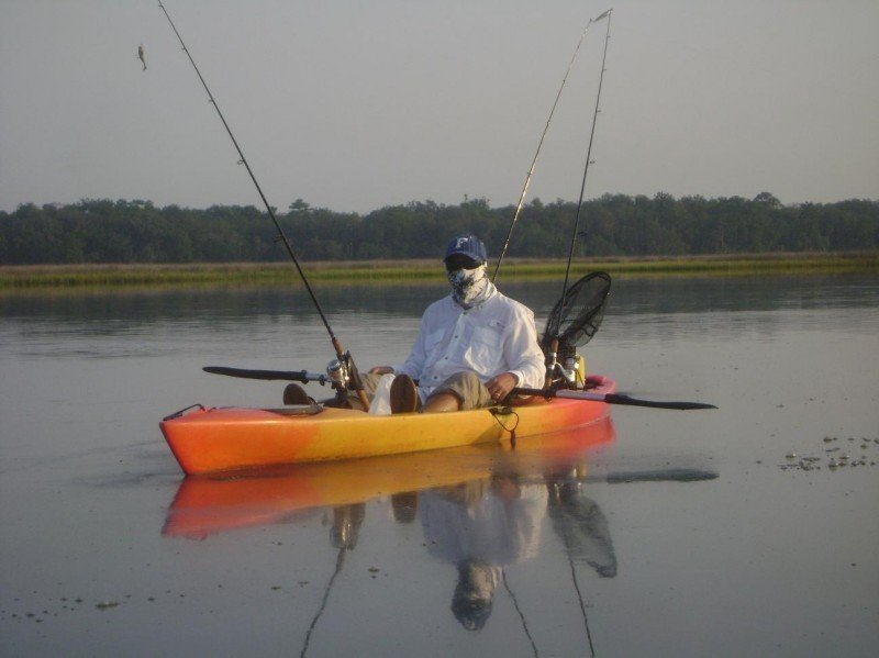Perception caster 12 5 fishing kayak review for Perception fishing kayak