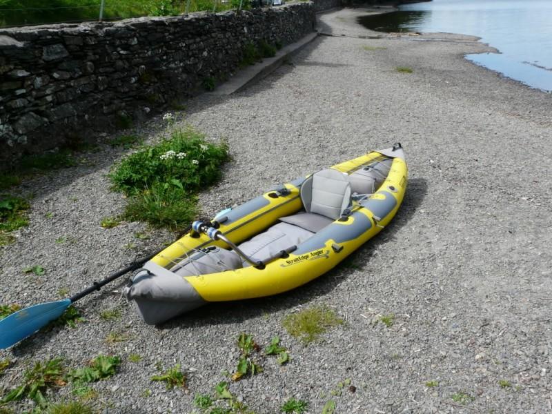 Advanced elements straitedge 10 fishing kayak review for Fishing kayak review