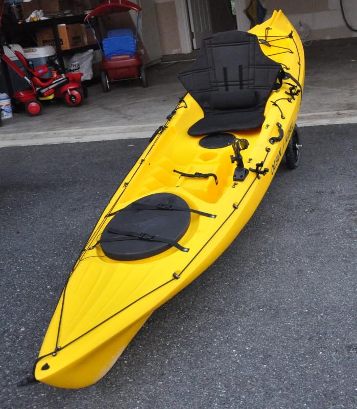 Ocean kayak prowler 13 angler 13 fishing kayak review for 13 fishing origin c