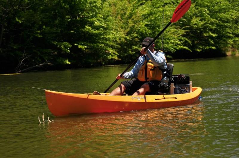 Nucanoe frontier 10 fishing kayak review for Fishing kayak review