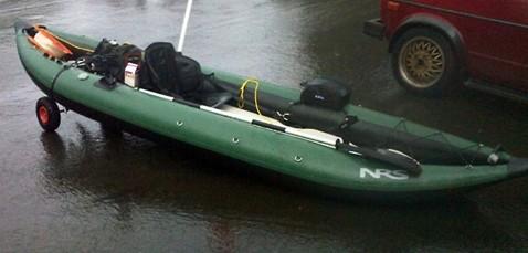 NRS Pike 12 5 Fishing Kayak Review