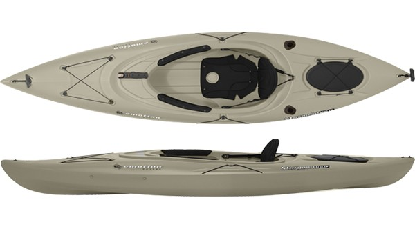 Emotion kayaks guster angler 10 fishing kayak review for Emotion fishing kayak