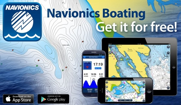 Navionics mobile app review for Navionics fishing app