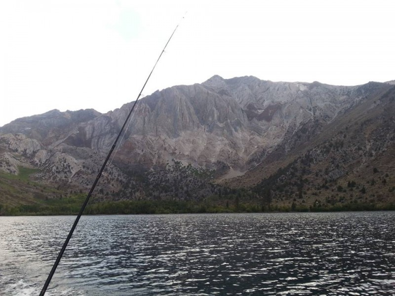 Convict lake freshwater fishing spot and kayak launch in for Convict lake fishing report