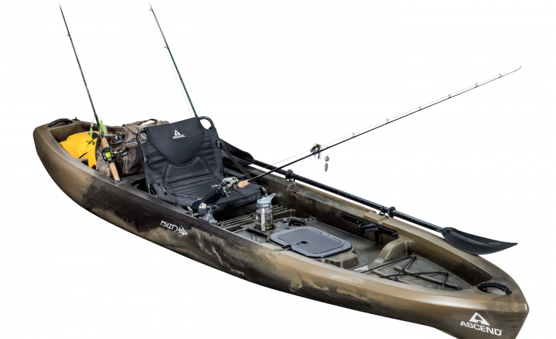 Ascend fs12t 12 fishing kayak review for Best sit on top fishing kayak