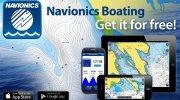 "Navionics ""Boating for iPhone and iPad"""
