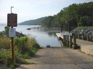Lapidum boat ramp - Susquehanna State Park