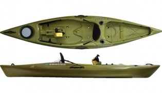 Emotion kayaks mojo 12 5 fishing kayak review for Emotion fishing kayak