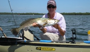 Dee Kaminski of Reel Kayak Fishing