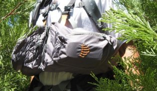 Chest Pack RIBZ Front Pack Grey