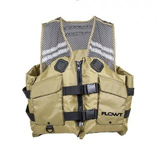 Flowt Mesh Fishing Adult Life Vest Type III PFD