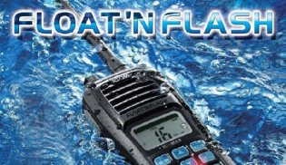 "Icom ""M24 Float 'N Flash"" VHF Radio"
