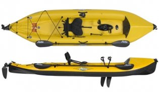 Hobie Mirage i12s fishing kayak
