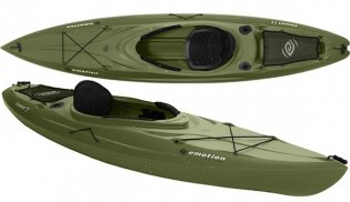 Emotion kayaks comet 11 angler 11 fishing kayak review for Emotion fishing kayak