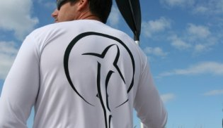 Shark Zen performance fishing shirt