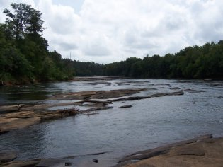Ocmulgee River Above Dames Ferry