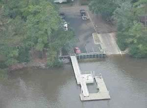 Harriet's Bluff Boat Ramp