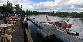 Pikes Landing on the Chena River Alaska