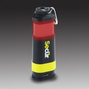 """Secur Products """"Four-in-One Light & Power Bank"""""""