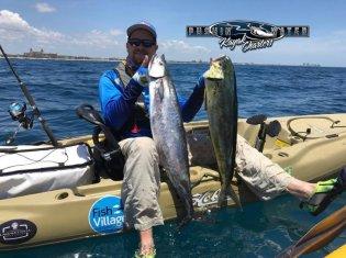 Pushin' Water Kayak Fishing Charters
