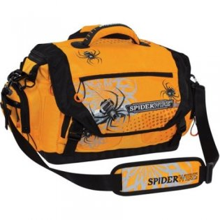 Spiderwire Soft-Sided Tackle Bag, Orange