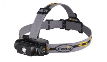 "Fenix ""HL55"" high-intensity waterproof headlamp"