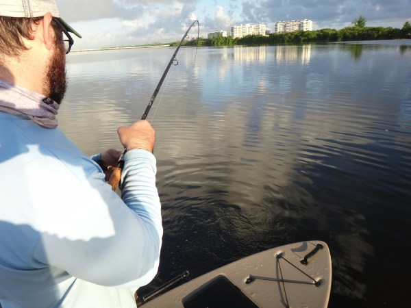 Porto Rico kayak fishing